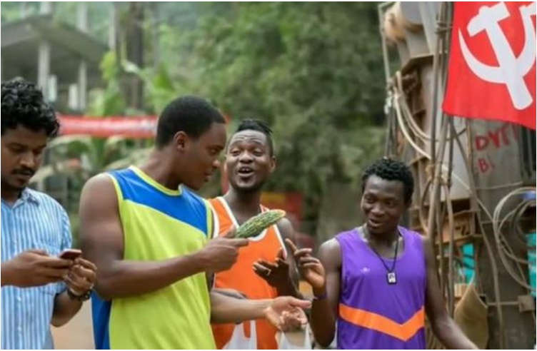 This film is about a Nigerian footballer: Sudhani from Nigeria